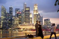 Wedding à Singapour Photo stock