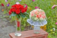 2 Wedding букета Стоковое Изображение RF