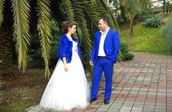 Wedding в декабре Стоковые Изображения