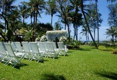 Wedding в рае Стоковая Фотография