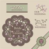 Wedding комплект 4 Стоковая Фотография