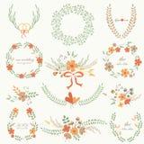 Wedding комплект иллюстрация штока