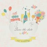Wedding комплект Стоковые Фото