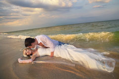 Wedding на пляже стоковое фото