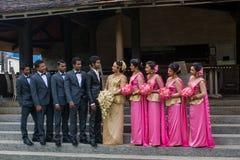 Wedding на Шри-Ланке стоковые изображения rf