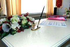 Wedding поставки Стоковые Фото