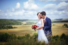 Wedding прогулка на природе Стоковые Изображения RF