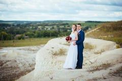 Wedding прогулка на природе Стоковые Изображения
