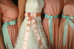 Wedding смычки Стоковое Фото