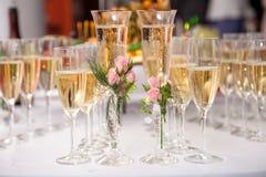 2 wedding стекла Стоковое фото RF