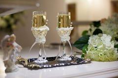 Wedding стекла Стоковое фото RF