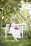 Wedding, счастливый молодой человек и праздновать женщины Стоковое фото RF