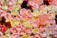 Wedding украшающ букет роз и орхидеи, крупного плана Стоковое Изображение