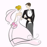 Wedding. Concept couple illustration vector