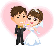 Wedding royalty free illustration