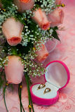 Wedding. Accessories, attributes to Royalty Free Stock Images