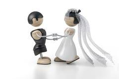 Wedding. Dance. abstract 3d model Stock Image