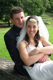 Wedding. Pictures, the couple just married Royalty Free Stock Image