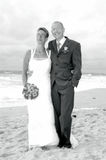Wedding. At the beach on the island sylt, germany Royalty Free Stock Photo