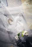 Wedding Accessories. Some accessories of the bride Stock Images