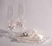 Wedding accessories Royalty Free Stock Image