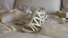 Wedding Accessories stock video footage