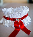 Wedding accessories. Beautiful design wedding floral and decor for the bride and groom Royalty Free Stock Photos