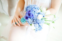 Wedding accessories, bouquet flowers Royalty Free Stock Photos