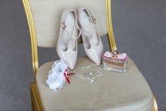 Wedding accessories bride stock photo