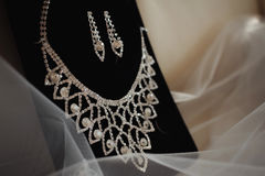 Wedding accessories of the bride. royalty free stock photography