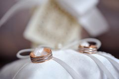 Wedding accessories Royalty Free Stock Photo