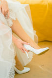Wedding accessories. In important day everything must be perfect Stock Images