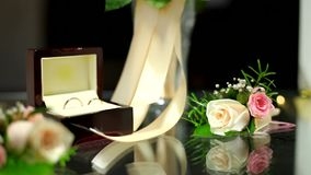 Wedding Accessories stock footage