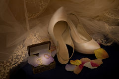 Wedding accessories Stock Photo