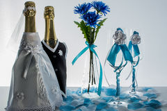 Wedding ainda a vida Imagem de Stock Royalty Free