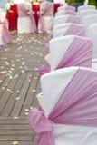 Wedding Aisle Royalty Free Stock Photo