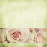 Wedding album page Stock Image