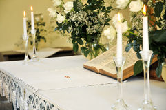 Wedding altar Royalty Free Stock Photography