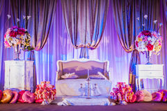 Wedding Altar. Decoration for the couple's seating Royalty Free Stock Images