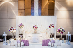 Wedding Altar Royalty Free Stock Photos