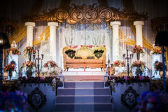 Wedding Altar Stock Photo