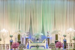 Wedding Altar on a stage Stock Images