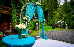 Wedding altar Stock Photography