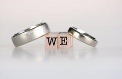Wedding ancora vita Immagini Stock Libere da Diritti