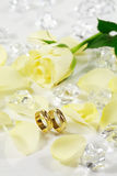 Wedding ancora vita Fotografie Stock Libere da Diritti