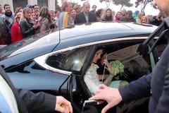 Wedding Andrea Bocelli and Veronica Berti Stock Photography