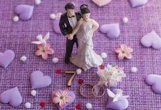 Wedding anniversary, anniversary. Holiday greetings stock images