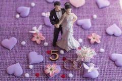 Wedding anniversary, anniversary. Holiday greetings stock photo