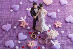 Wedding anniversary, anniversary. Holiday greetings royalty free stock images