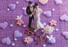 Wedding anniversary, anniversary. Holiday greetings royalty free stock photos